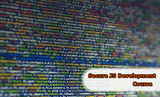 Secure JavaScript Development Course
